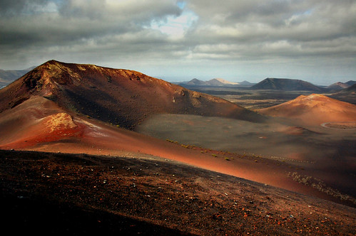 Caldera at the heart of Timanfaya | by blinkingidiot