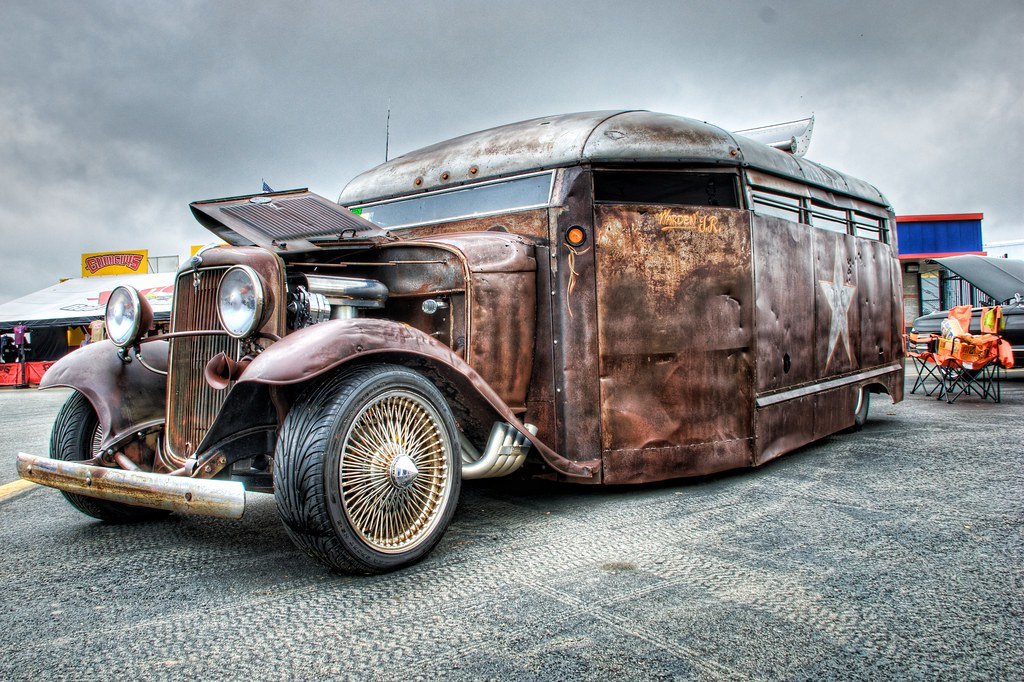Rat Rod Bus Hot Rod Thing At The Southeastern Nationals Flickr - Good guys cars for sale