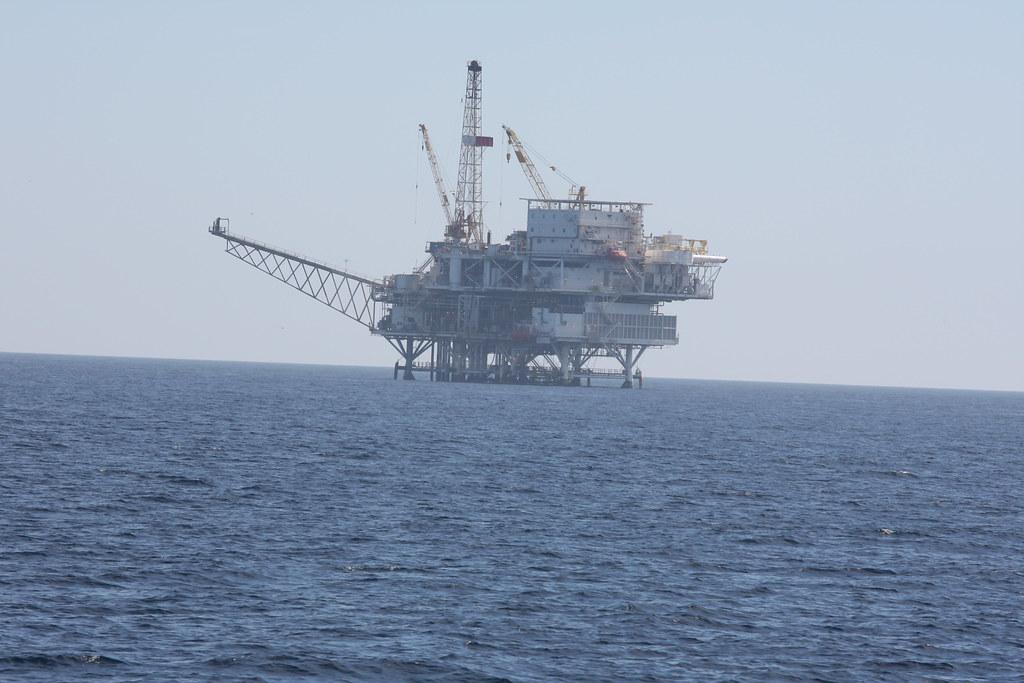 Oil Platform In The Santa Barbara Channel California 2