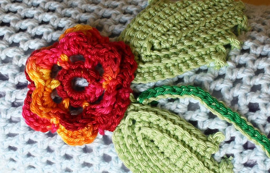Finished Irish Crochet Yoga Mat Bag Blogged At Apinnick
