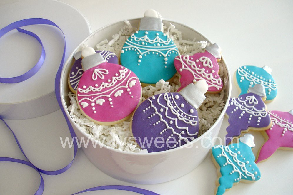 how to make cookie ornaments