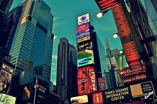 Times Square, NYC | by Emily Stanchfield