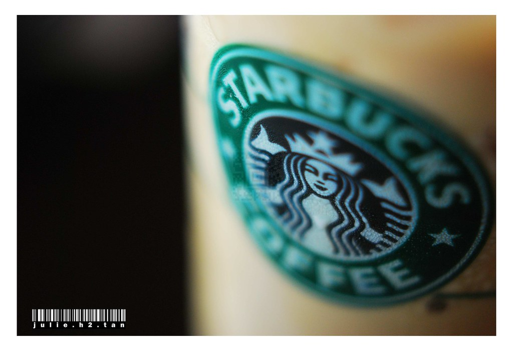 Starbucks | Iced Chai Latte. Logo copyright of Starbucks ...