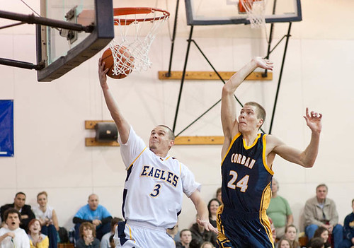 Men's Basketball vs. Corban College 3 | Blake Solomon (#3 ...