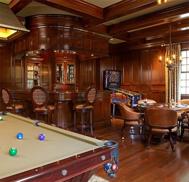 Luxury Bar Game Room Decor Home