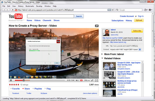 Watch Video through Proxy | youtube through proxy Setup ...