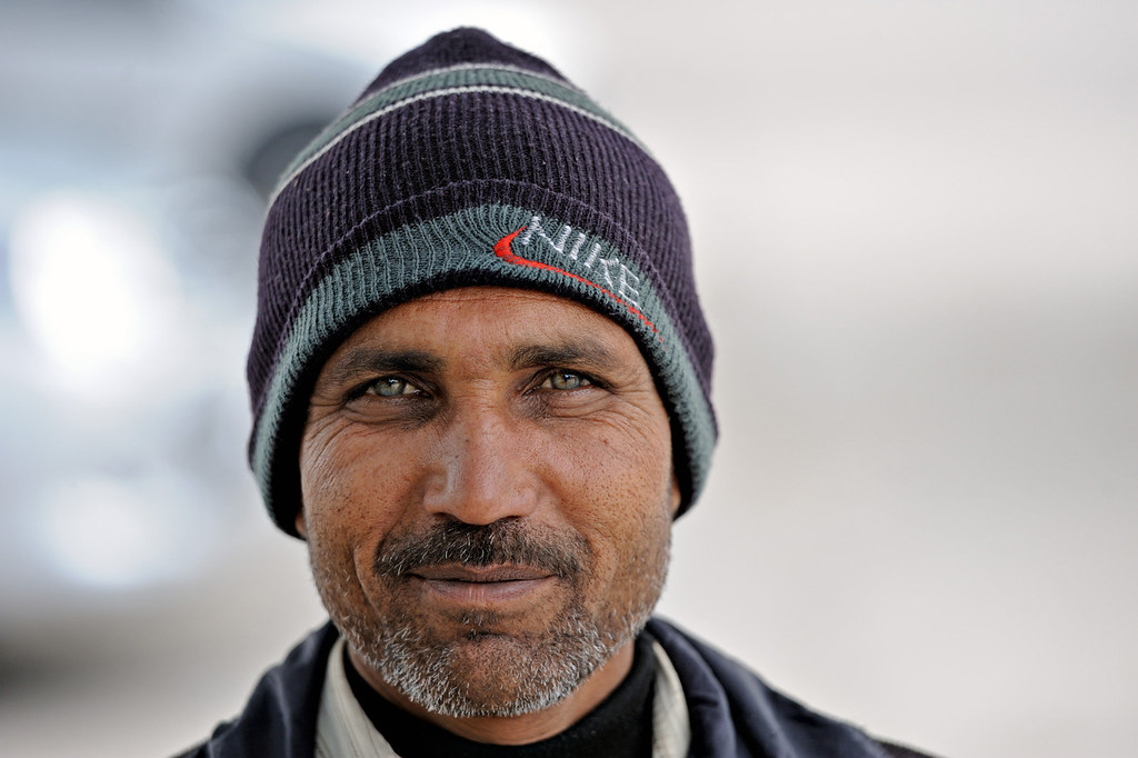 Man With Blue Green Eyes In Sikandra Where Akhbar The Gre Flickr