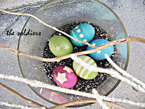coloring easter eggs -army eggs the soldiers | by ...love Maegan