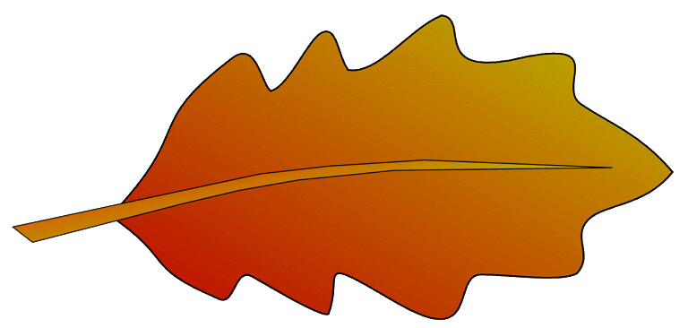 autumn oak leaf 2 sketch clipart lge 12 cm long this clip flickr rh flickr com oak leaf clipart oak leaf outline clipart