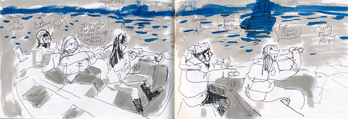 Sketchbook #102: Field Trip - Long Boat