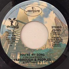 YARBROUGH & PEOPLES:DON'T STOP THE MUSIC(LABEL SIDE-B)