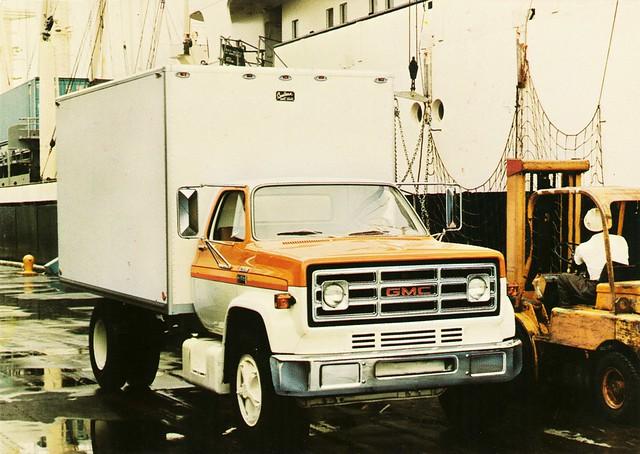 1977 gmc medium duty conventional truck alden jewell flickr