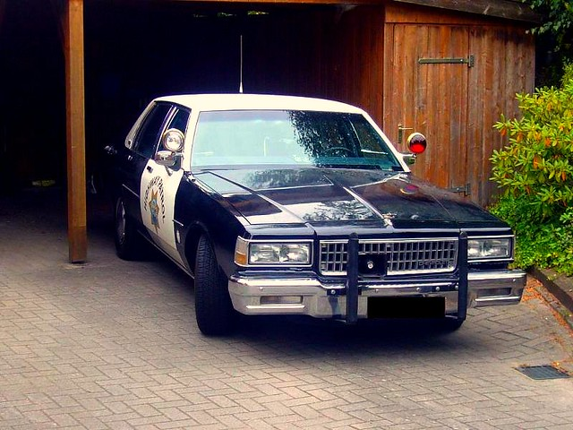 1989 California Highway Patrol Chevy Caprice In Germany