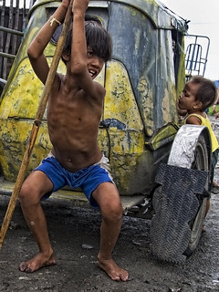 Baseco, Manila - Intense Look from the Children of the slum | by Mio Cade