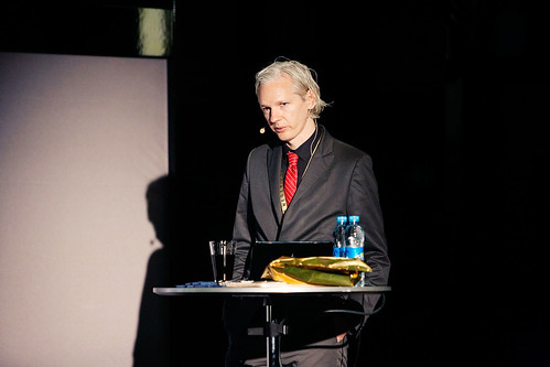 Julian Assange, Wikileaks | by New Media Days