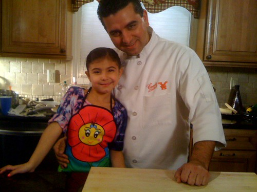 Even Buddy Valastro's daughter is a fan of our aprons ...