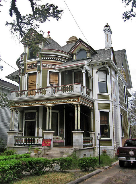 Queen Anne Style House Mobile Alabama 1216 Government