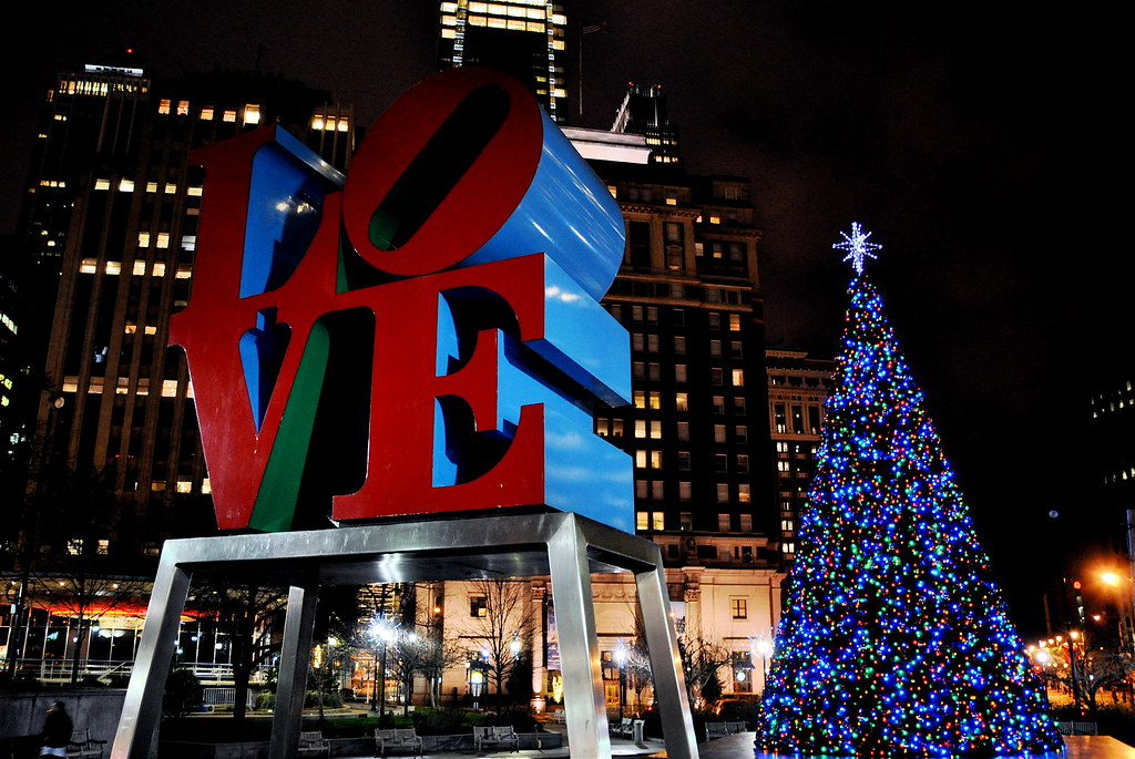 christmas in philly by kevin burkett