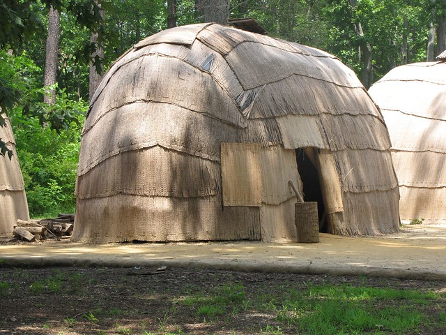 Powhatan Village Wigwam 2 Jamestown Settlement