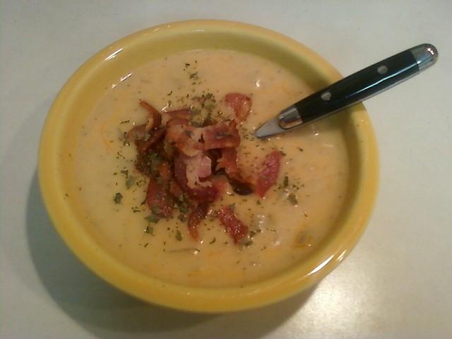Cheesy Potato Soup | Flickr - Photo Sharing!