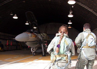First Female Pilot to Fly F-16I (Sufa) Aircraft | by Israel Defense Forces