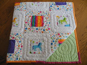 Over the Rainbow Quilt For Kids | by beebers31