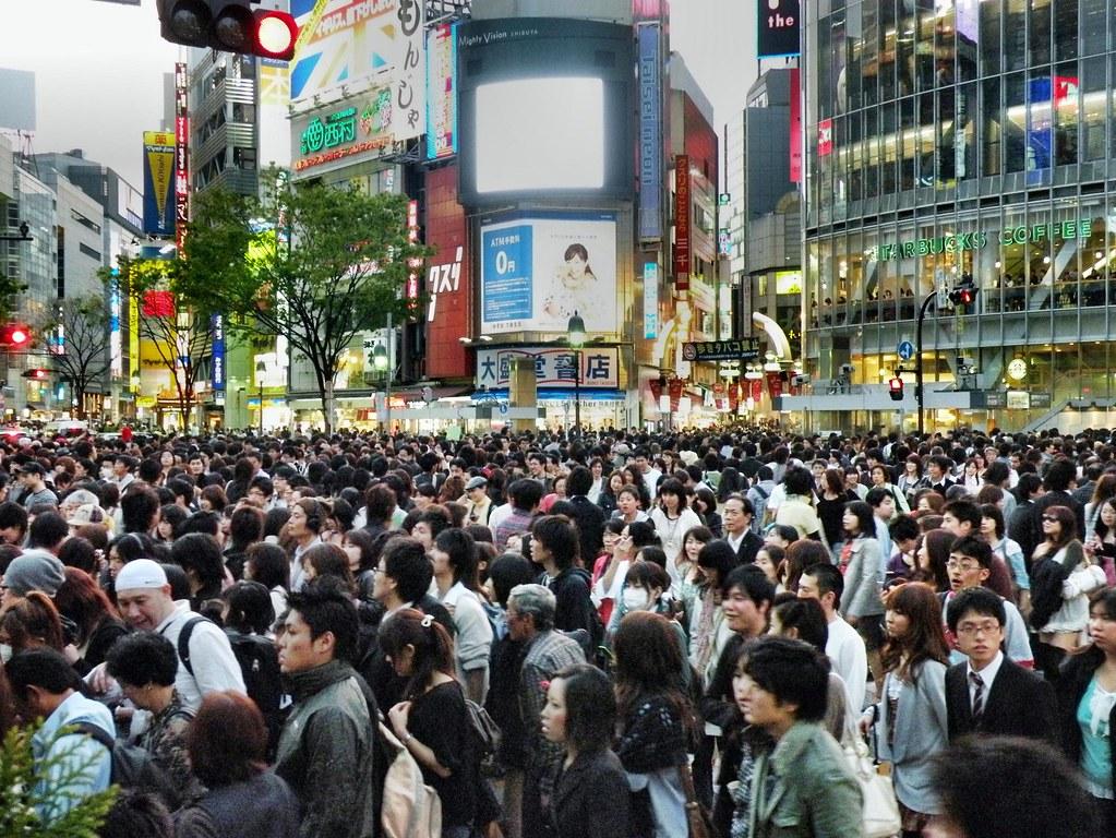 Shibuya Crossing 163 Shibuya Is One Of Tokyo S Most