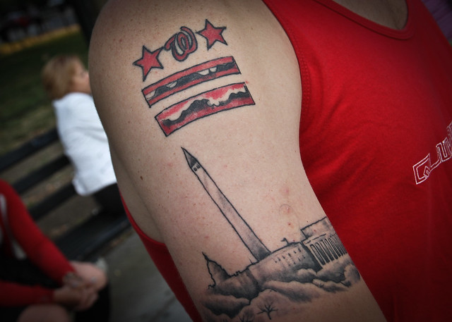 dc flag tattoo day flickr photo sharing