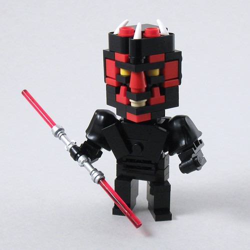CubeDude Darth Maul | by Larry Lars