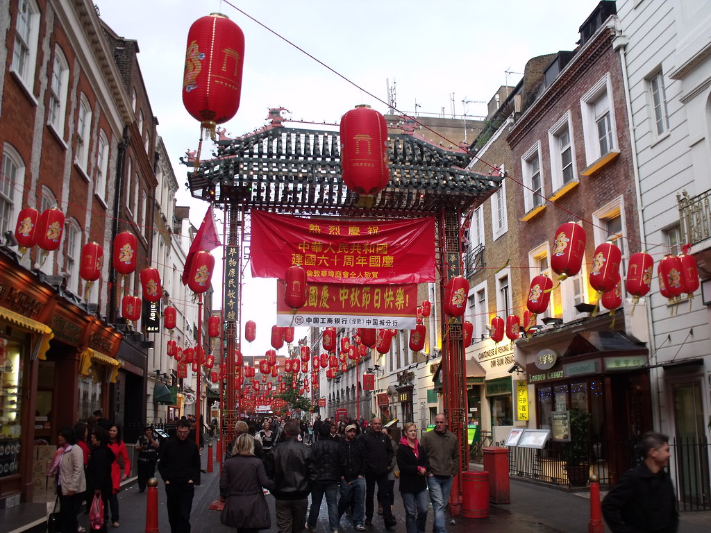 Chinatown London Gerrard Street After Leaving