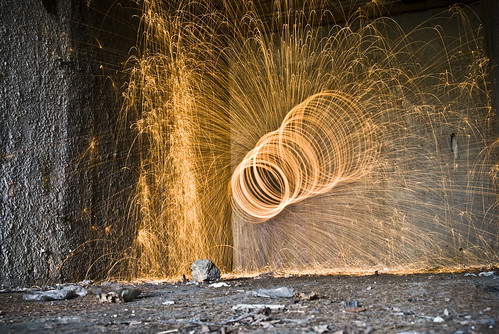 steel wool and abandoned military base 2 | by stewedman