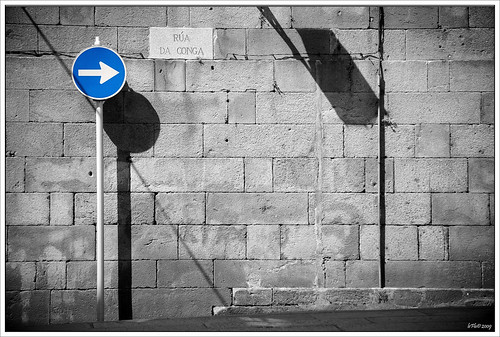 One Way in B&W | by Pablo Abreu