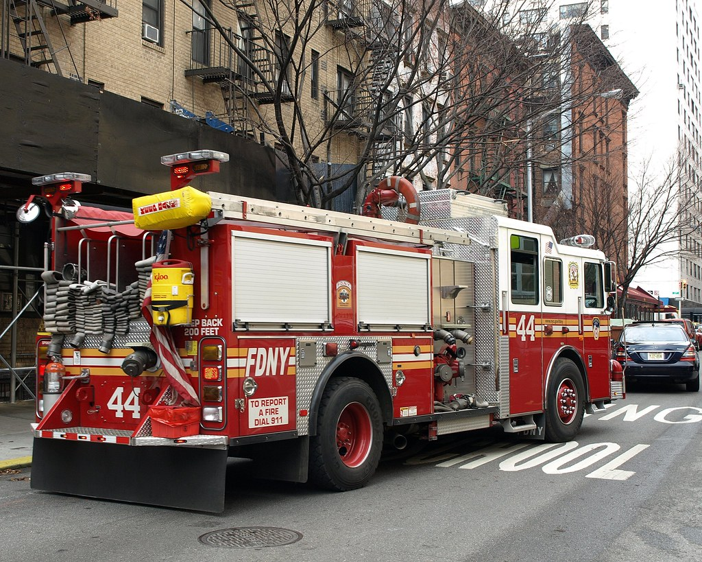 "... E044e FDNY ""Fighting Forty Four"" Engine 44, Upper East Side, New York"