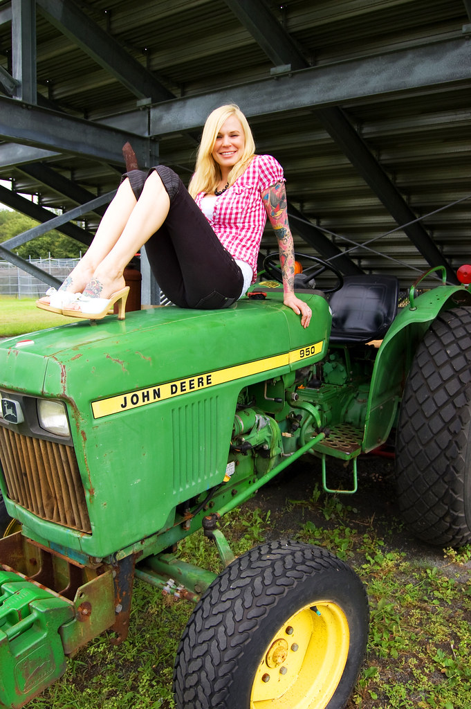 Her tractors sexy