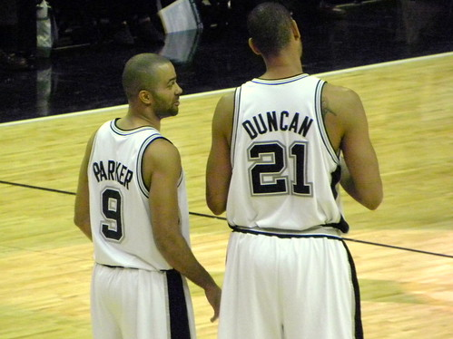 Tony Parker & Tim Duncan | by The Brit_2