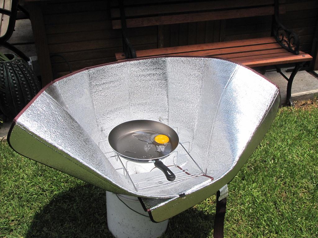 Estufa solar port til como cocinar un huevo en 12 for Cocinar en 30 minutos