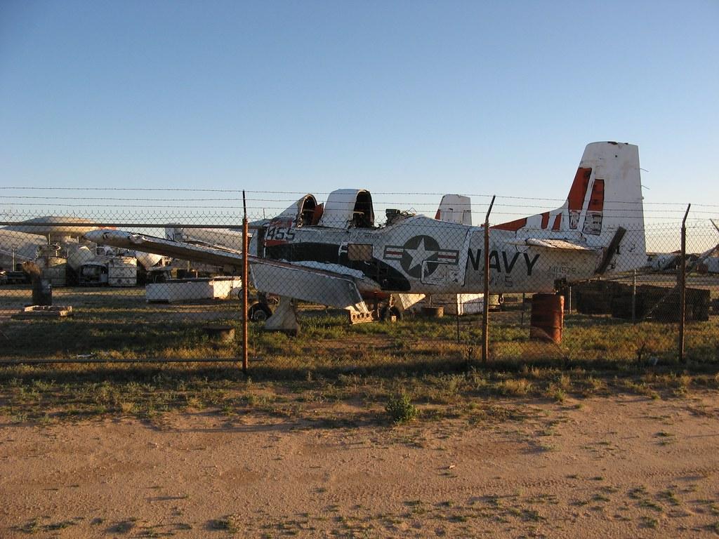 Tucson - Davis-Monthan Air Force Base Boneyard - Navy 0585