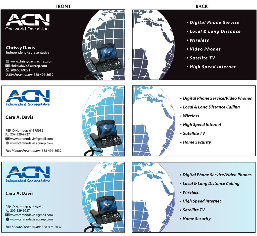 Acn business cards daniel hidalgo flickr acn business cards by dshdesigns acn business cards by dshdesigns reheart Gallery