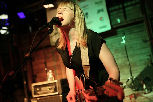 Wye Oak at Cedar Street Courtyard SXSW2010 | by allsongs