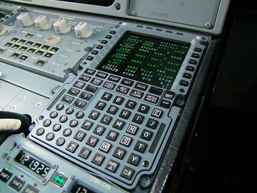 Airbus A320 Thales Mcdu Brand New Mcdu On The First Day