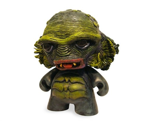 Munny From the Black Lagoon: final front view | by ash edwards