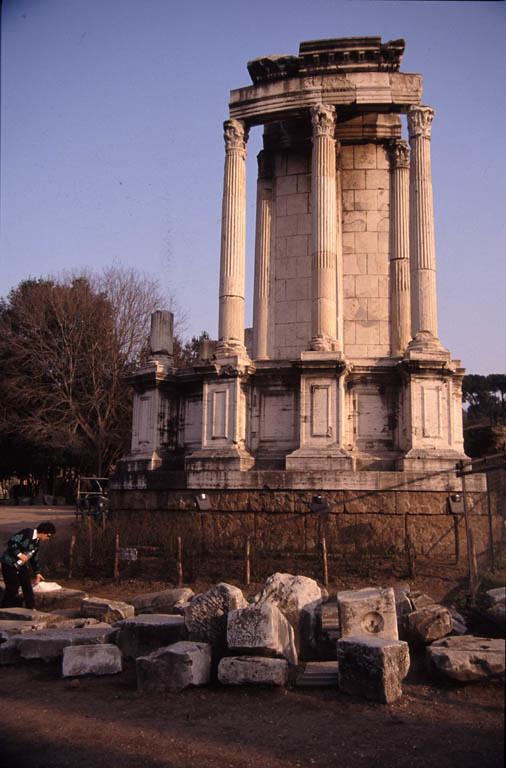 roman forum temple of vesta other title roman forum