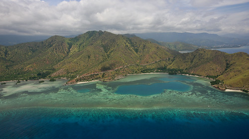 Aerial View near Dili, Timor-Leste | by United Nations Photo