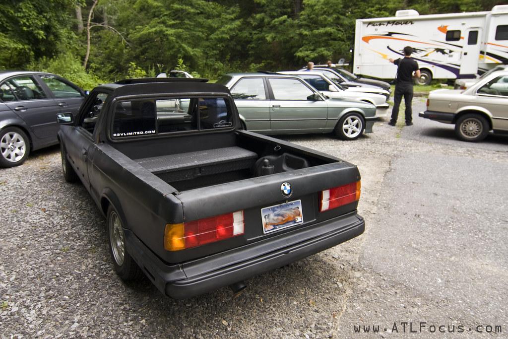 Bmw Pick Up Truck >> BMW E30 Pick Up Truck 325iS Turbo Flat Black 1 | Halston ...