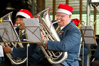 Meredith Music Festival 2010 - City of Ballarat Brass Band | by Aunty Meredith