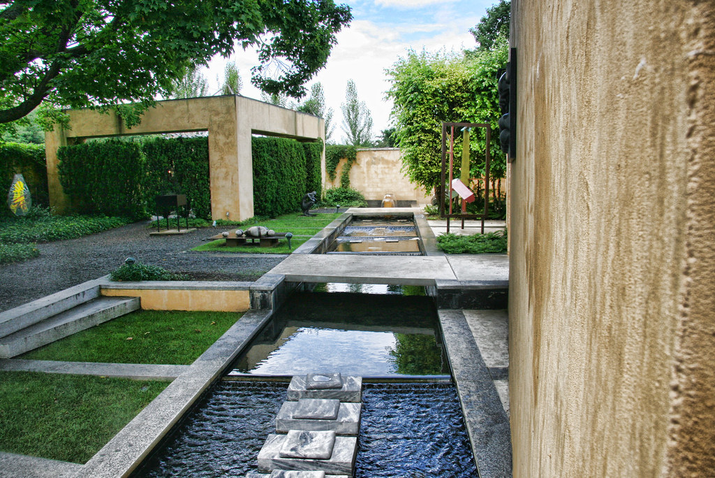 Sculpture Garden In Trenton Nj Enhanced In Topz Adjust
