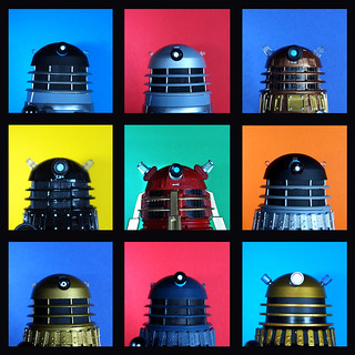 nine daleks | by Johnson Cameraface