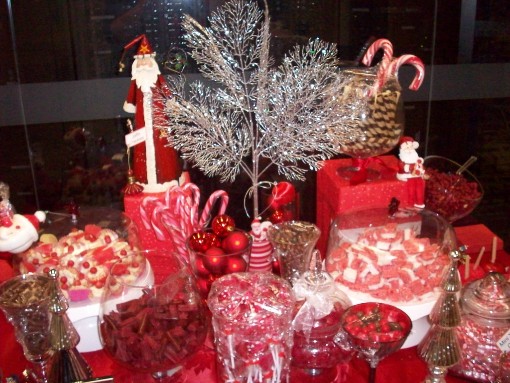 Christmas Candy Buffet Bar From All The Inspiration