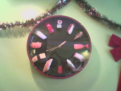 Sushi clock | by inky squid