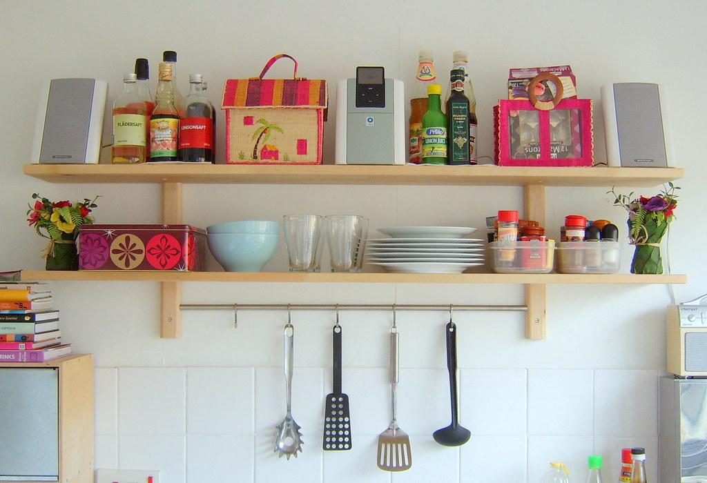 Ikea Kitchen Shelves Home And Aplliances